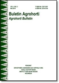 Vol 6, No 2 (2018): Buletin Agrohorti